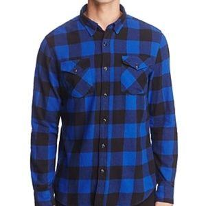 NWT! Jachs NY Buffalo Check L/S Flannel Shirt